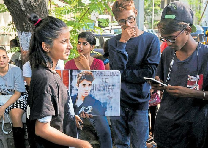 Stage set for Justin Bieber's maiden India concert
