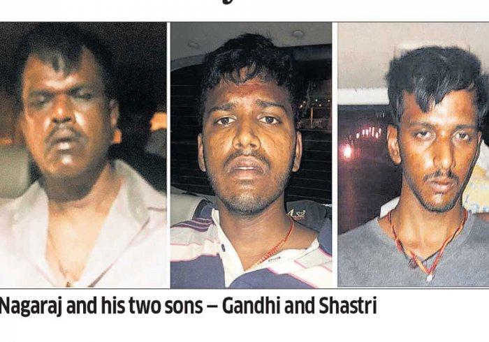 History-sheeter Nagaraj, sons held after month-long hunt