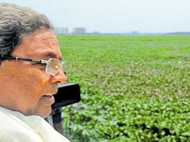 As clean-up deadline about to end, CM visits Bellandur lake