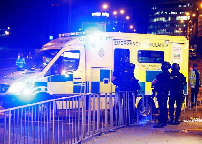 22 killed, 59 injured in blast at pop concert in UK