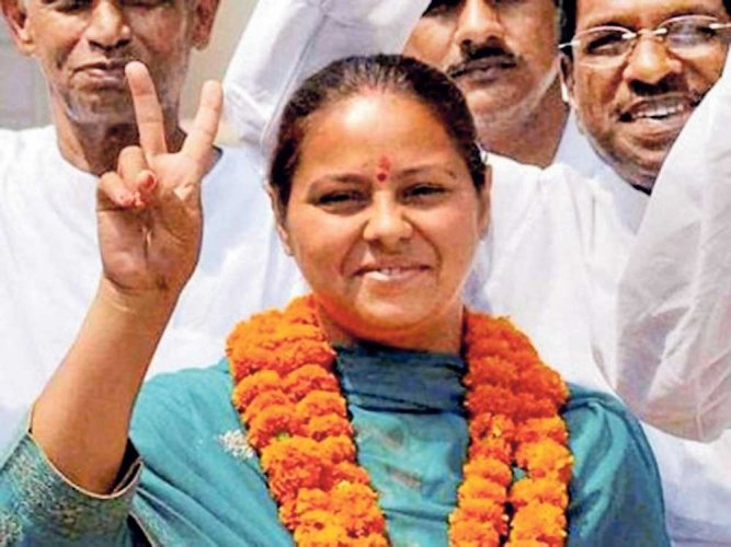 I-T department summons  Lalu's  daughter,  son-in-law