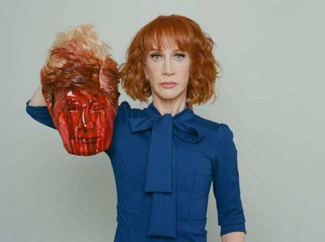 CNN fires Kathy Griffin over Donald Trump beheading picture