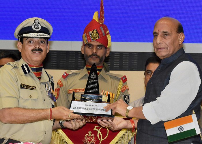 Be conscious of the uniform you wear: Rajnath to policemen
