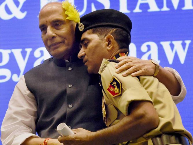 Rajnath warns security personnel about unverified social media content