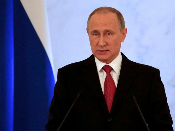 No 'tight' military ties with Pak, Indo-Russia ties cannot be diluted: Putin