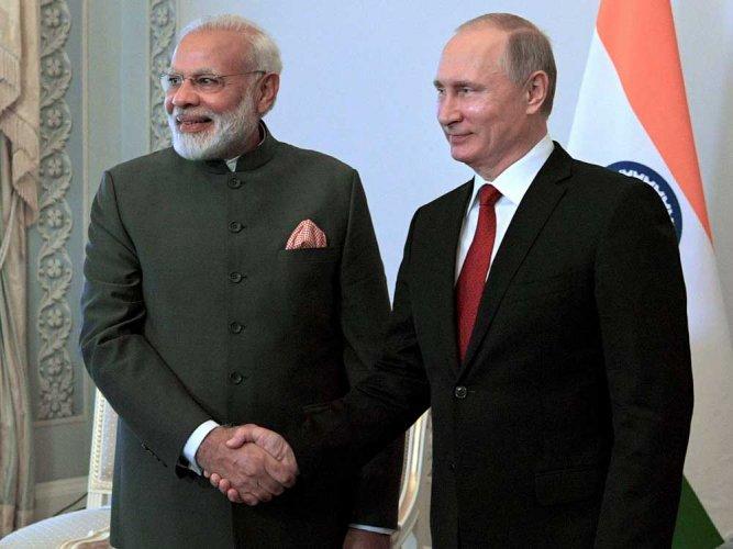 Modi, Putin hold talks on wide-ranging issues
