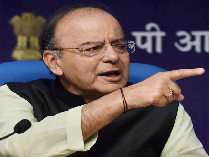 Jaitley blames global factors for fall in economic growth