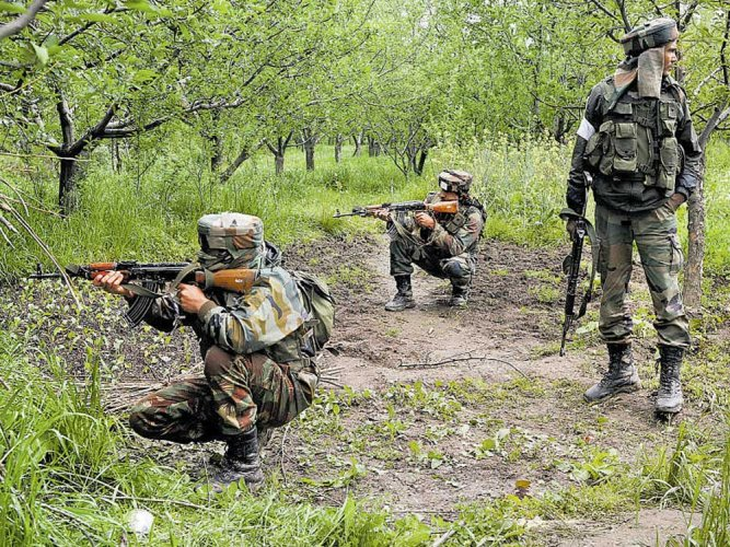 Two Hizbul militants killed in Sopore