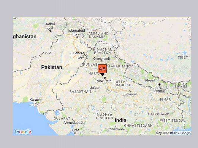 Earthquake of 5.0 magnitude hits Haryana, northern India