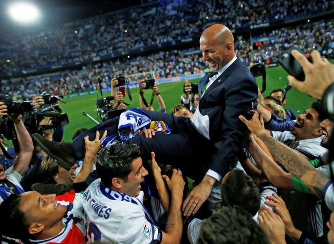 Juventus bar Zidane's path to history with Madrid