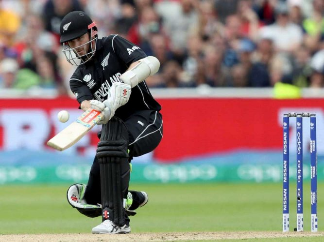 Williamson hits ton before Hazzlewood's sixer restricts NZ