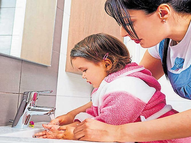 Washing hands in cold water as good as hot: study