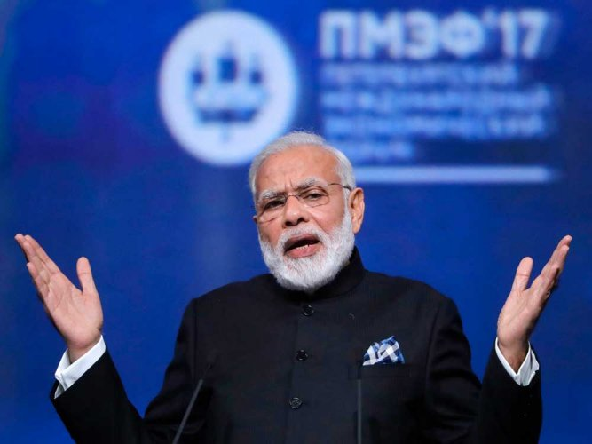 Some nations arming, funding terrorists, says Modi in reference to Pak