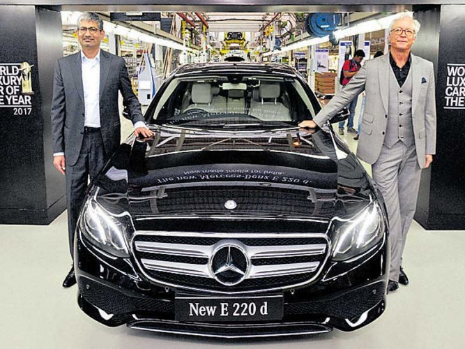 Mercedes strengthens E-Class range in India with new E 220 d
