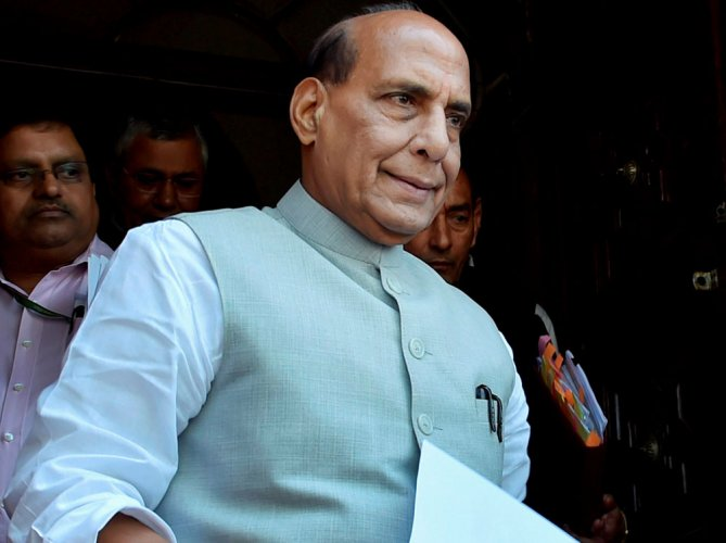 Resolving Kashmir issue will take some time: Rajnath