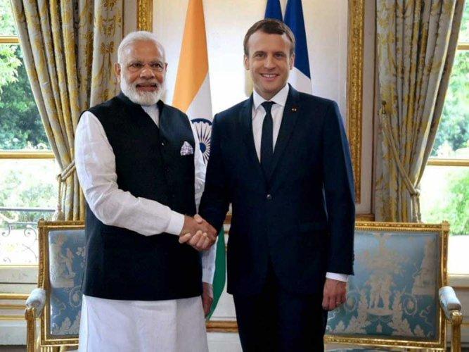 Macron to visit India for world solar alliance meet