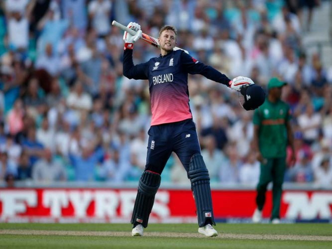 Root ton propels England to big victory