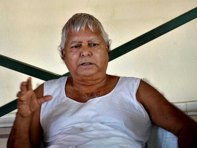 Modi writes to Bihar CM, seeks cancellation of Lalu plot