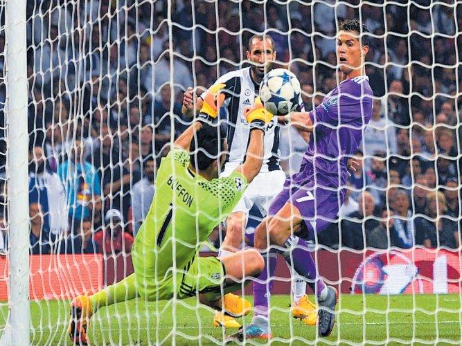 Ronaldo show rolls on...