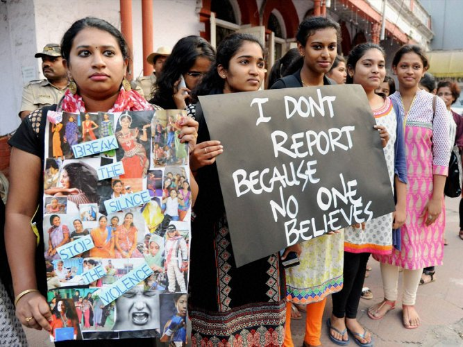Molestation victims harassed by cop in UP