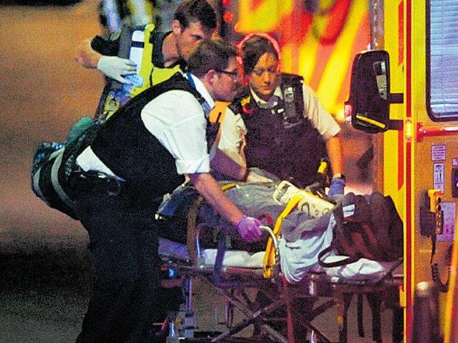 Terror strikes London again