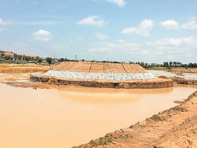 CSR initiative pulls back lake from brink of extinction