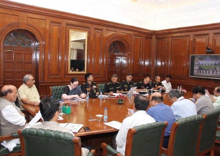 Rajnath reviews functioning of 'Black Cat' commandos