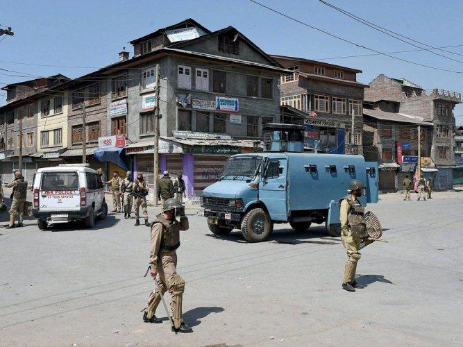 Srinagar records season's hottest day