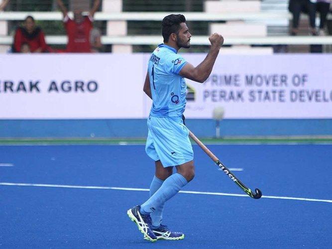 Harmanpreet scores a double in India's 3-2 win against Belgium