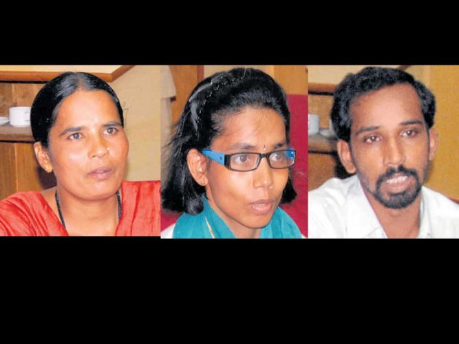 Three Maoists give up arms in Malnad