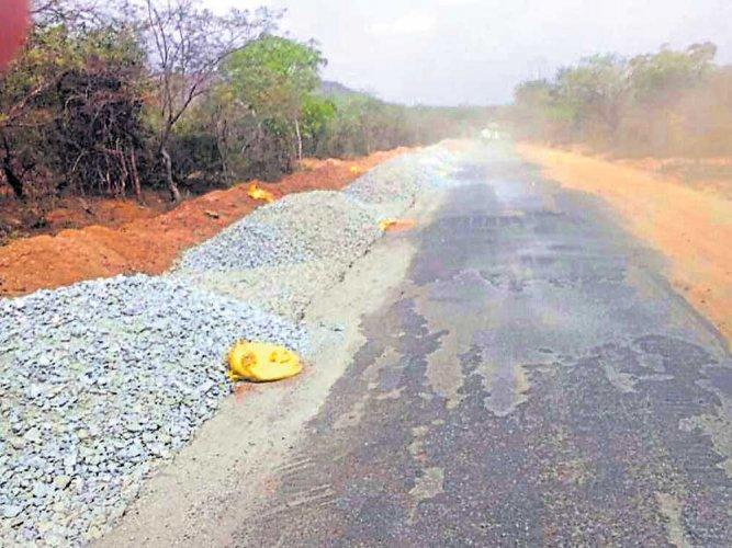 'Illegal' widening of road in Male Mahadeshwara Hills raises hackles