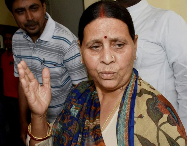 Now, Rabri Devi charged with acquiring 'benami property'