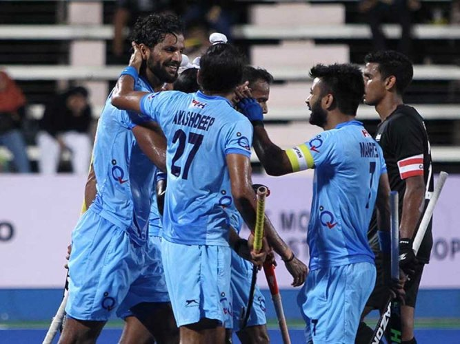 Indian men's hockey team loses 0-2 to Germany