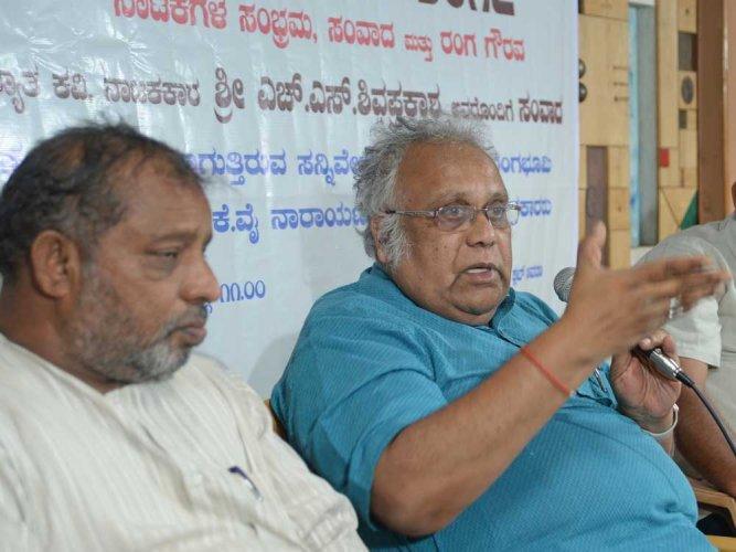 Kannada litterateur Shivaprakash selected for YCMOU award