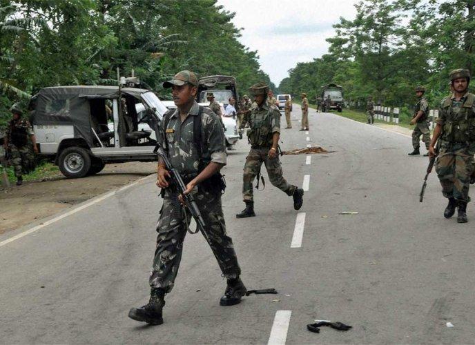 AR officer, 3 NSCN(K) cadres killed in Nagaland encounter