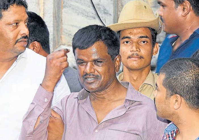 Rowdy Nagaraj remains in police custody, this time over a robbery