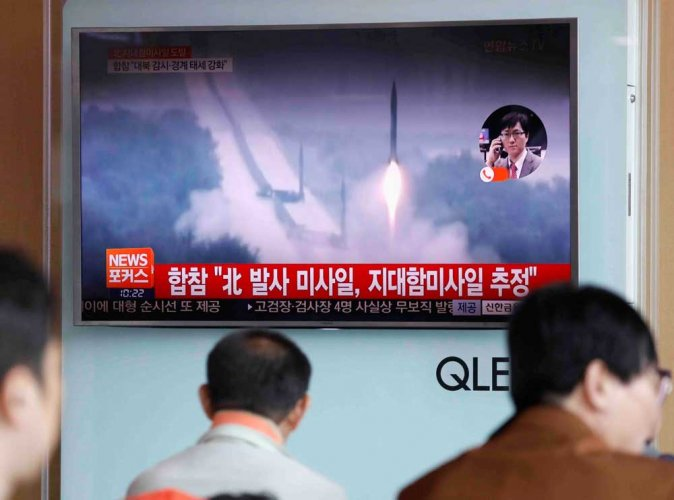 N Korea says launch tested 'new type' of cruise missile
