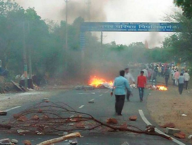 RSS affiliate-led MP farmers' stir embarrasses BJP