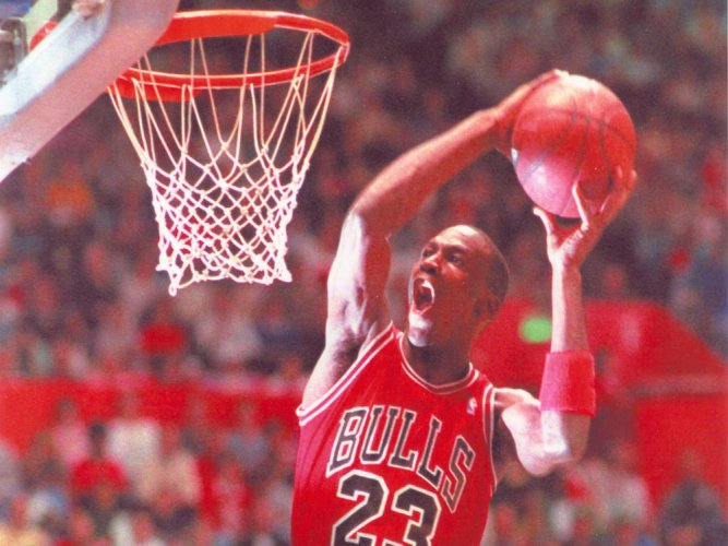 Michael Jordan's shoes auctioned for record USD 190,300