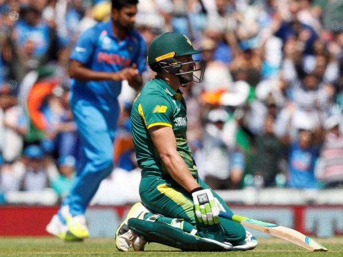 Didn't deserve to be in semis: du Plessis