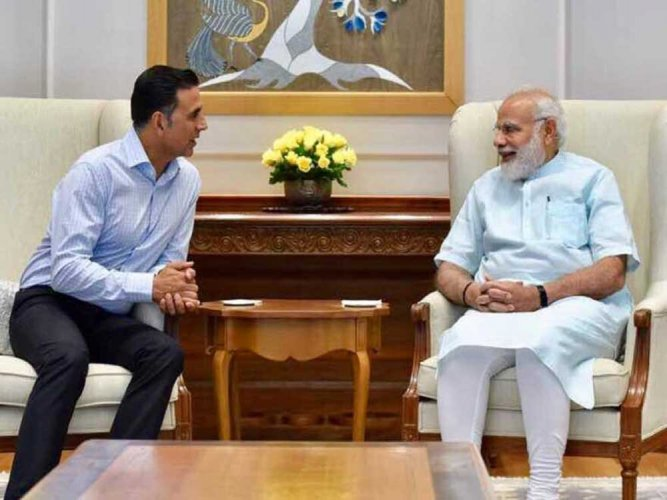 Good effort: PM Modi praises Akshay's 'Toilet Ek Prem Katha' trailer