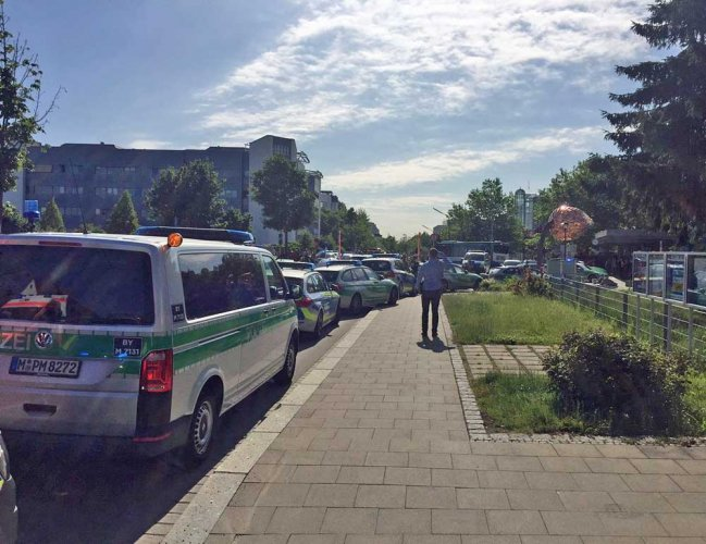 Several wounded by shots at German rail station: police