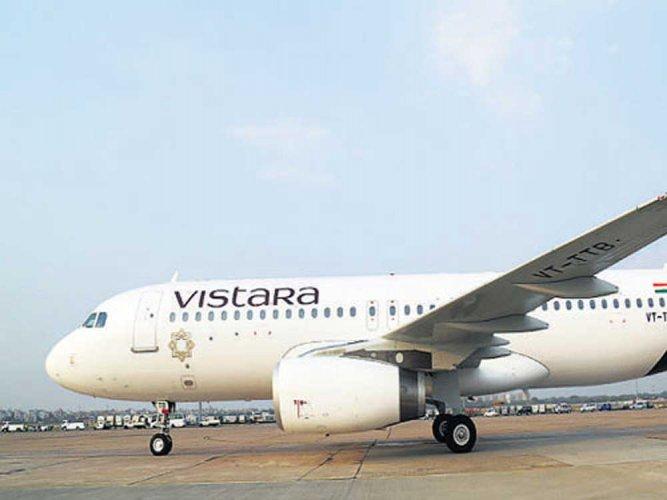 Vistara announces 'monsoon sale'; fares start from Rs 849