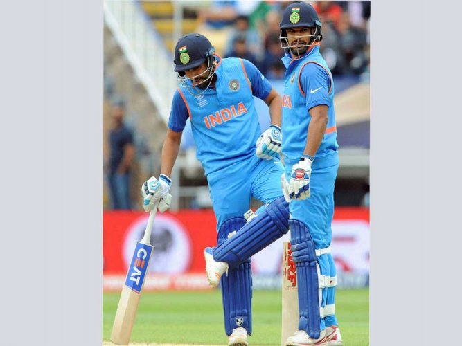 Dhawan-Rohit's perfect duet