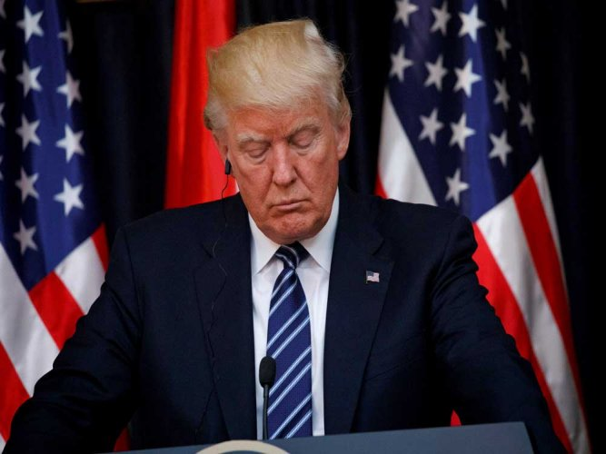 Trump 'deeply saddened' by shooting at congressional baseball practice