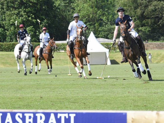 Polo Team led by Jaipur's Padmanabh wins the match in UK against Prince William