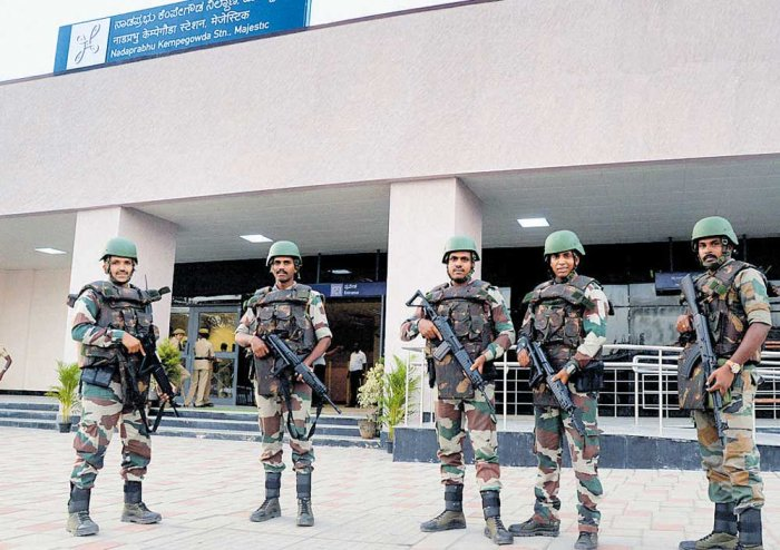 100-member quick reaction team to provide security at Metro stations