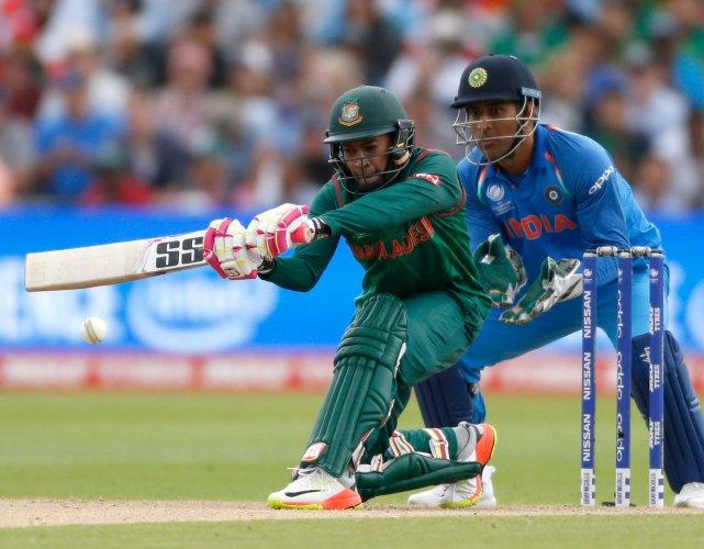 Bangladesh set India 265-run target