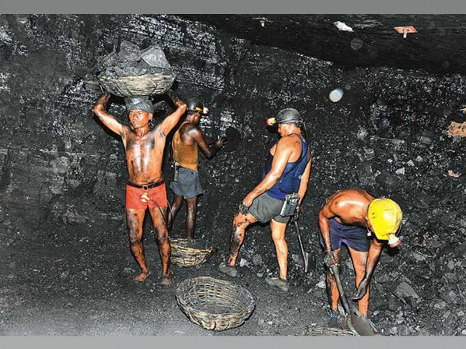Singareni collieries strike partial, production affected