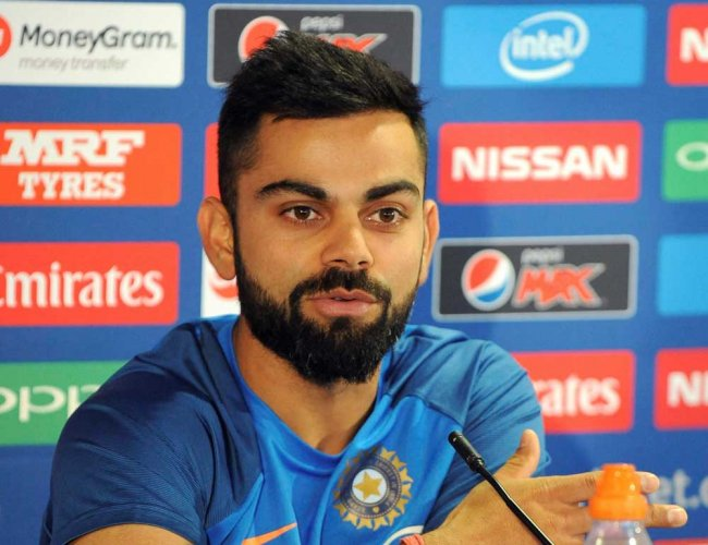 Don't think we need to change anything for final: Kohli